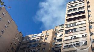Incendio en un edificio de la Ciudad de los Periodistas
