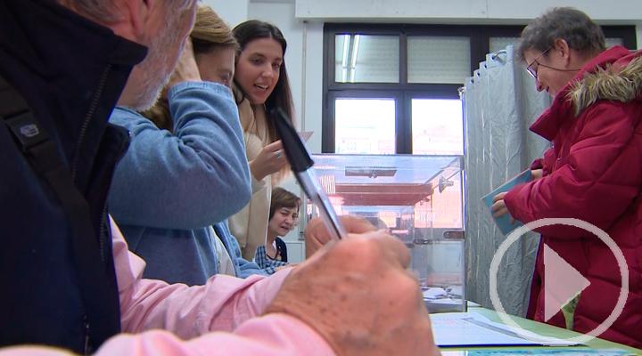 Simulacro electoral para personas con discapacidad