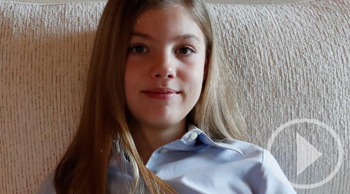 La infanta Sofía cumple 13 años