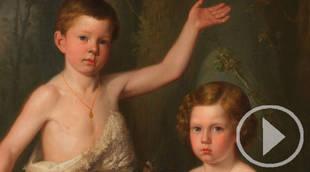 Retratos infantiles del Romanticismo español en el Museo del Prado