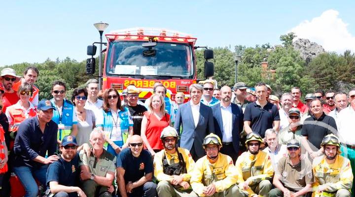 4.800 efectivos para la lucha contra los incendios forestales