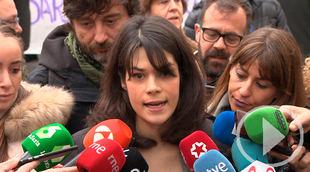 Isa Serra reitera que las acusaciones sobre ella son 'falsas'
