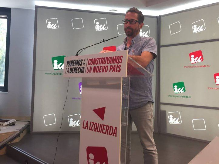 Ismael González, este lunes