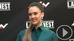 Jessica Alba, de promoción y turismo por Madrid