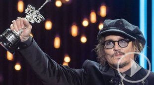 Johnny Depp recibe el Premio Donostia tras la polémica