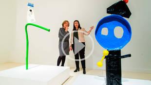 El Miró más escultórico desembarca en Caixaforum