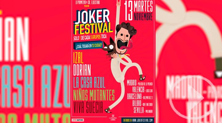 Nace el Joker Festival, una cita musical con grupos sorpresa