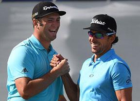 Jon Rahm y Rafa Cabrera Bello empiezan su carrera hacia el triunfo en la FedEx Cup con la ausencia de Sergio García