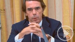 Aznar: 'He actuado tajante contra la corrupción'