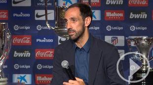 Juanfran se despide del Atlético de Madrid