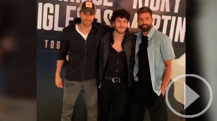 Enrique Iglesias, Ricky Martin y Sebastián Yatra anuncian gira juntos