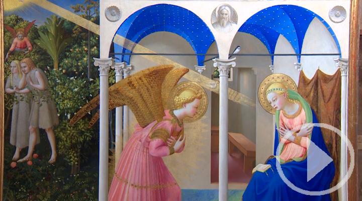 El Prado presenta 'La Anunciación' restaurada