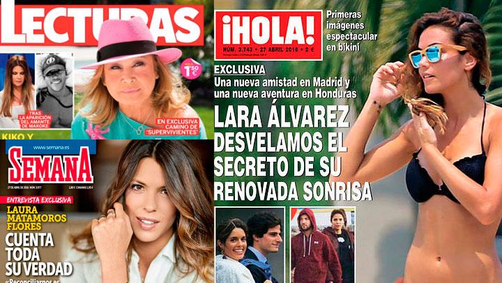 Las revistas de los miércoles: ¿Qué sería de estos semanarios sin Tele 5?