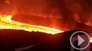 La lava afecta a 680 hectáreas y destruye 1.548 edificaciones de La Palma