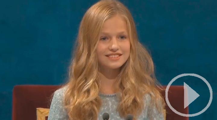 La Princesa Leonor cumple este jueves 14 años