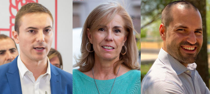 Tres alcaldes, cara a cara esta tarde en Onda Madrid