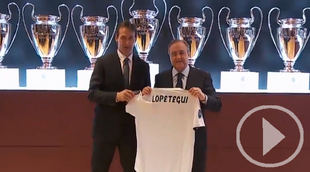 Lopetegui: 'Del Real Madrid me gusta hasta el himno'