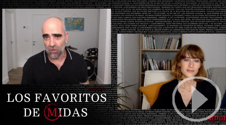 Luis Tosar regresa a las series con 'Los Favoritos de Midas'