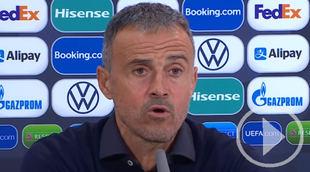 Luis Enrique sobre la derrota contra Francia
