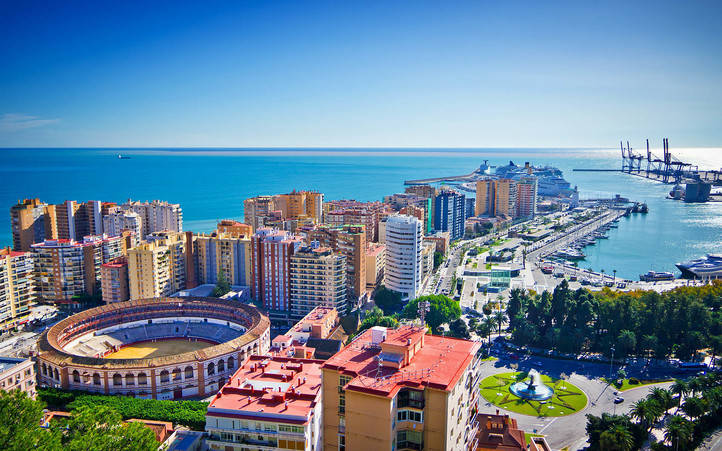 El mejor alojamiento en Málaga