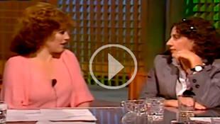 Manuela Carmena entrevistada por Carmen Maura hace 34 años