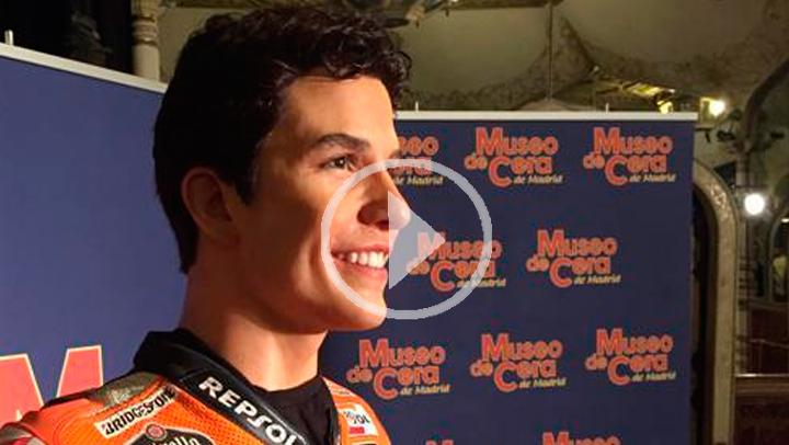El Museo de Cera incorpora al piloto de motos Marc Márquez