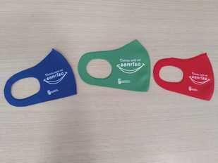 Mascarillas reutilizables para la población escolar de Navalcarnero