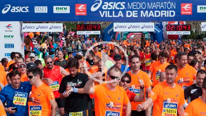 La Media Maratón Villa de Madrid tendrá cerca de 23.000 corredores por una causa solidaria
