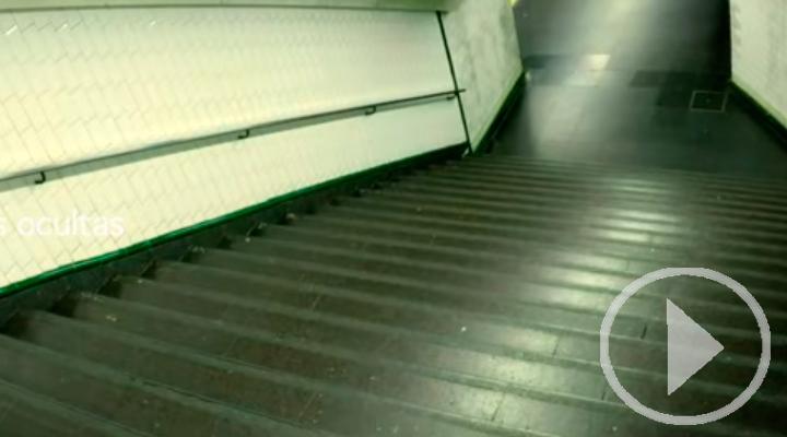 El tren fantasma de la estación de Alonso Martínez
