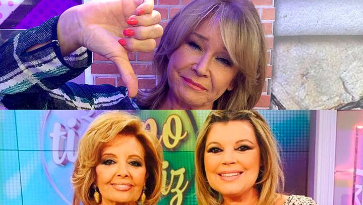 María Teresa Campos no acudió a su cita de los miércoles en 'Sálvame' para defenderse de los ataques de Mila Ximénez en 'Lecturas'