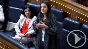 Montero al PP: 'Vigilen a Ayuso'