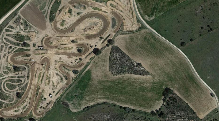 Vista a�rea del circuito