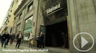 Rafa Nadal se convierte en asesor comercial en el Edificio de Telefónica de la Gran Vía