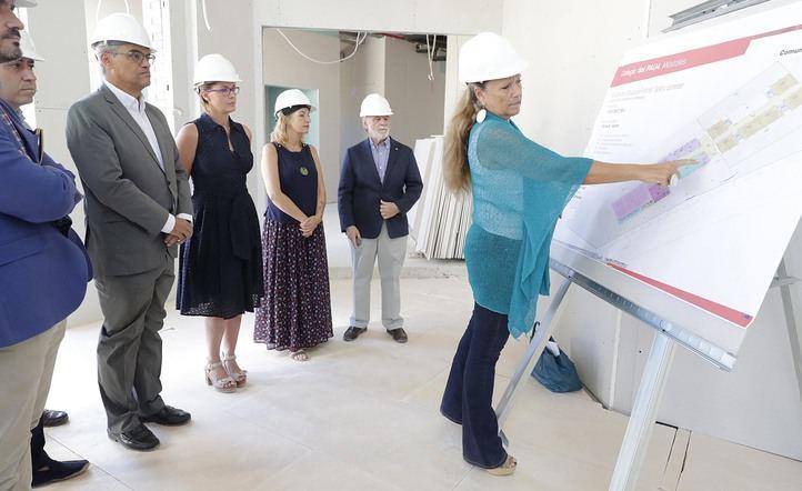 El nuevo colegio bilingüe de Móstoles contará con seis aulas de Infantil.