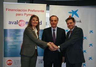 Renovaci�n del convenio de colaboraci�n entre CaixaBank y Avalmadrid