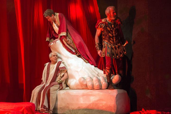 'Nerón' se representa en el Teatro Bellas Artes.