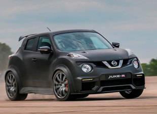 Nissan Juke-R. 600 CVbajo el pie