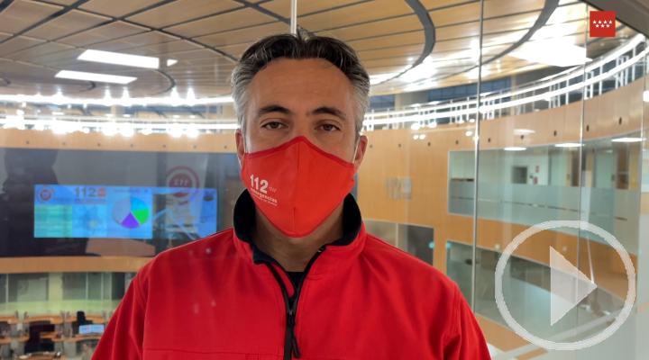 Balance de este jueves del director de ASEM112 sobre la nevada