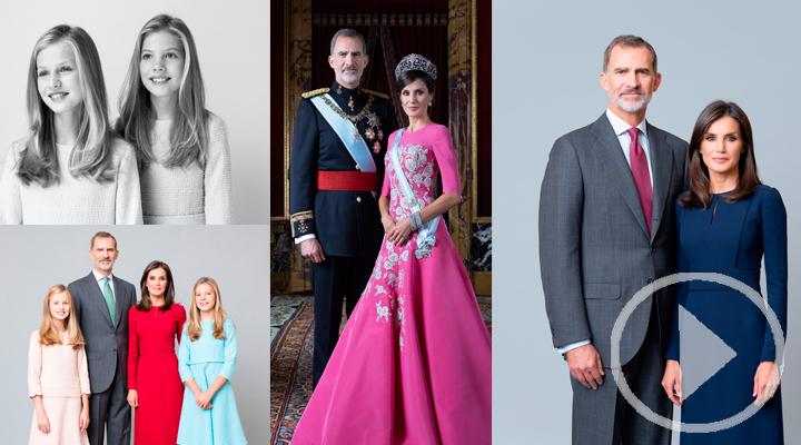 La Casa Real estrena nuevo retratos oficiales
