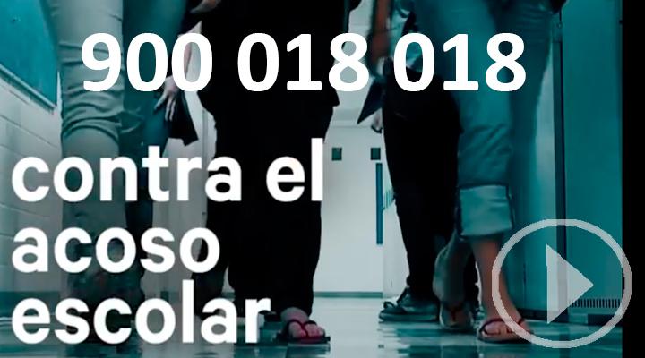 El nuevo número de teléfono contra el acoso escolar entra en funcionamiento el 1 de Noviembre