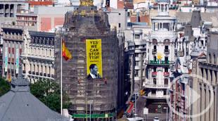 Greenpeace pide a Obama que pare el TTIP en Metrópolis