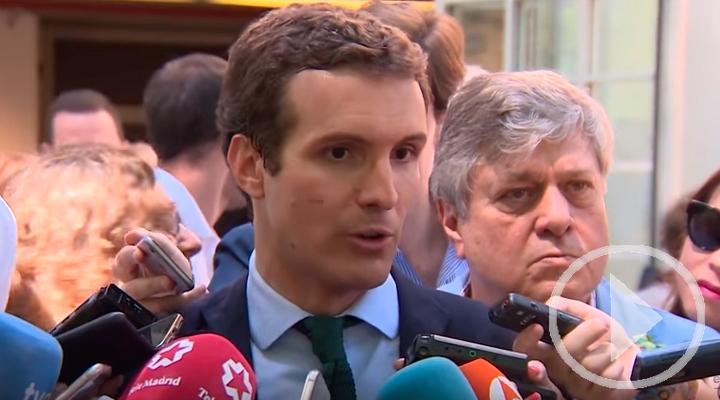 Casado propone ilegalizar los partidos independentistas