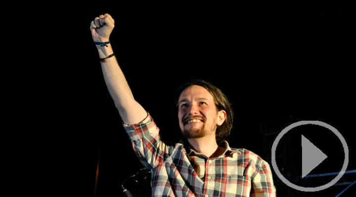 Pablo Iglesias, reelegido al frente de Podemos