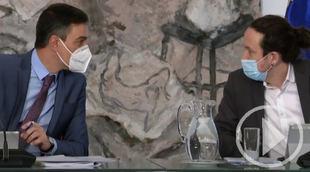 El último Consejo de Ministros de Pablo Iglesias