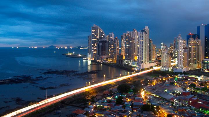 Vista de la ciudad de Panamá