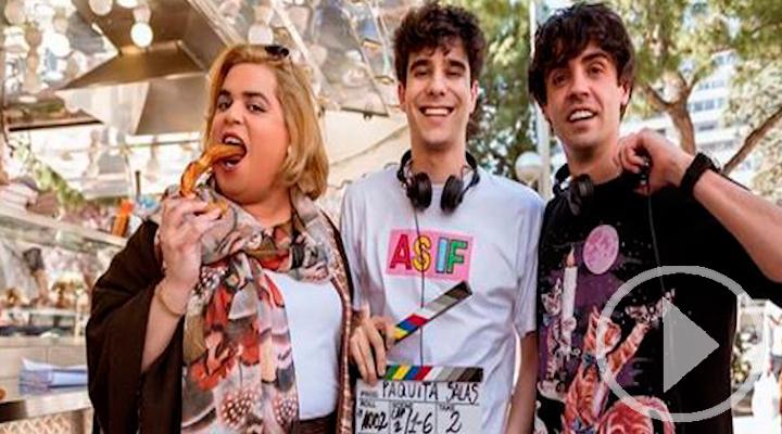Los Javis ya ruedan la tercera temporada de Paquita Salas