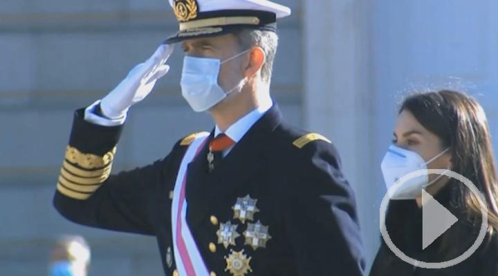 El rey Felipe VI preside la Pascua Militar