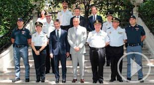 Policías italianos patrullan este verano junto a la Policía Nacional en Madrid