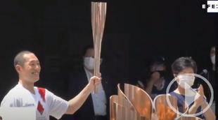 Último relevo de la antorcha e inicio de los JJOO de Tokio