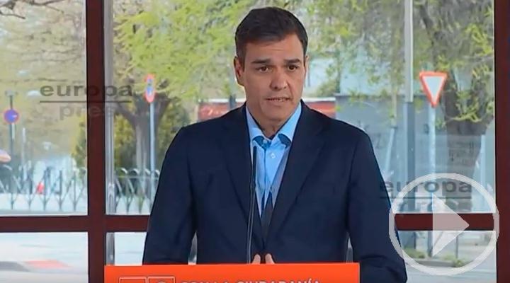 Sánchez : 'Aparentar que todo cambia para que nada cambie'
